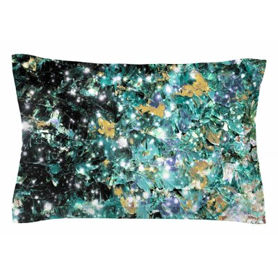Ebi Emporium Minty Way Painting Sham Size: Queen