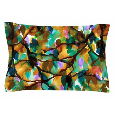 Ebi Emporium By Any Other Name 5 Watercolor Sham Size: 20 H x 40 W x 0.25 D