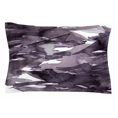 Ebi Emporium Fervor 9 Watercolor Sham Size: Queen