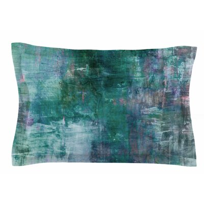 Ebi Emporium Blue Planet Painting Sham Size: Queen