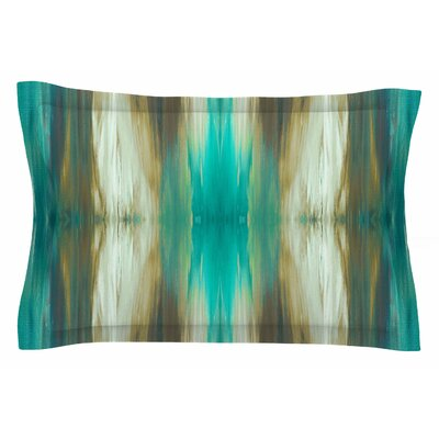 Ebi Emporium Butterfly Tribal 4 Painting Sham Size: Queen