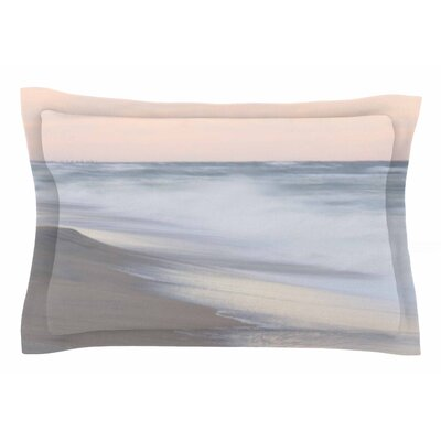 Horizon Studio Pastel Sea Photography Sham Size: King