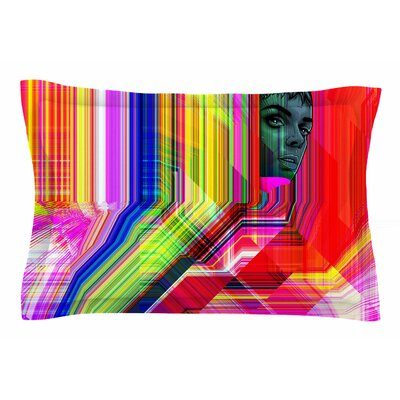 Roberlan Mechancholya Abstract Pop Art Sham Size: King
