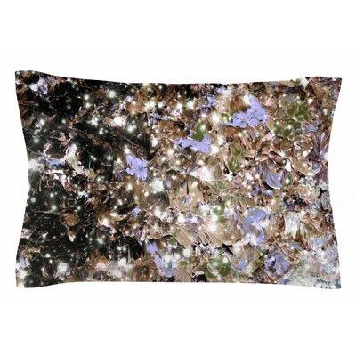 Ebi Emporium Cocoa Nebula Painting Sham Size: Queen