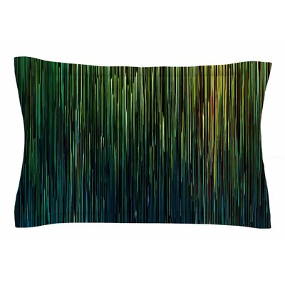 Ginkelmier Planet Pixel Billboard Digital Sham Size: King