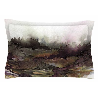 Ebi Emporium The Long Road 1 Watercolor Sham Size: Queen
