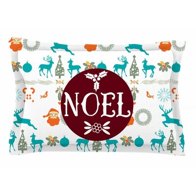 Famenxt Noel Digital Sham Size: Queen