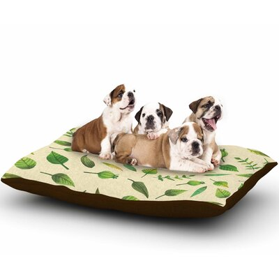 I Be-Leaf in You Dog Pillow with Fleece Cozy Top