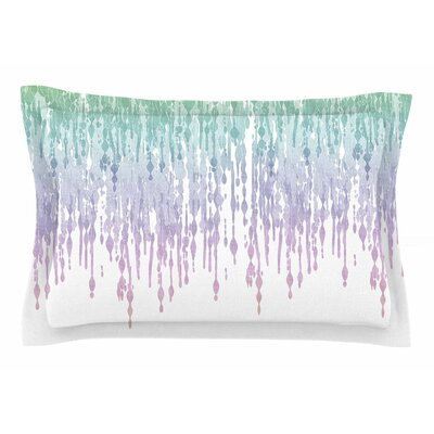 Frederic Levy-Hadida Rainbow Drops Digital Sham Size: Queen