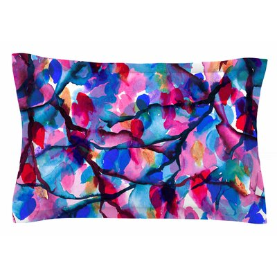 Ebi Emporium By Any Other Name Watercolor Sham Size: King