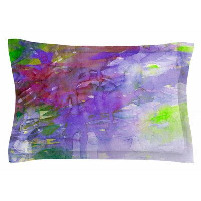 Ebi Emporium Carnival Dreams 5 Watercolor Sham Size: King