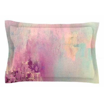 Geordanna Fields Serene Nebula Painting Sham Size: Queen