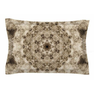 Nick Nareshni Sandy Beach Mandala Sham Size: King