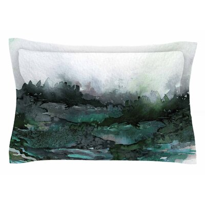 Ebi Emporium The Long Road Watercolor Sham Size: King