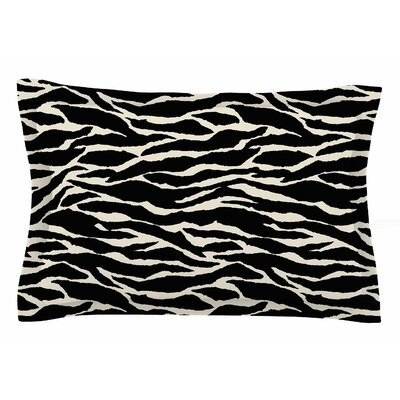Jacqueline Milton Safari Mixed Media Sham Size: Queen