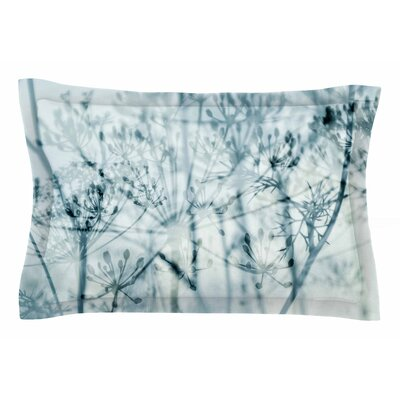 Iris Lehnhardt Atmospheric Blue Nature Sham Size: Queen