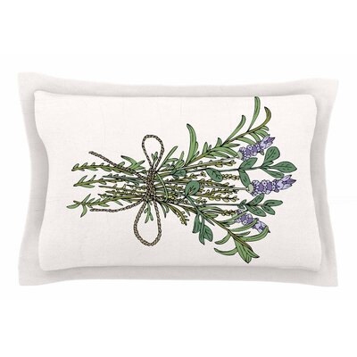 Pom Graphic Design Herbal Bunch of Love Illustration Sham Size: Queen