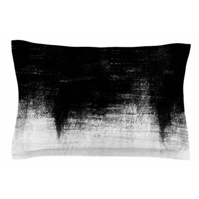 Iris Lehnhardt Black & White Painting Sham Size: King