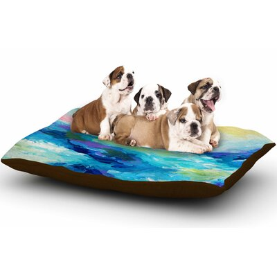 Ebi Emporium Taken by the Undertow Dog Pillow with Fleece Cozy Top