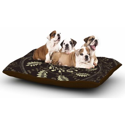 Famenxt Reborn Mandala Bandana Dog Pillow with Fleece Cozy Top