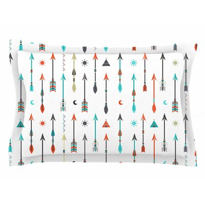 Afe Images Tribal Inspired Arrow Illustration Sham Size: Queen