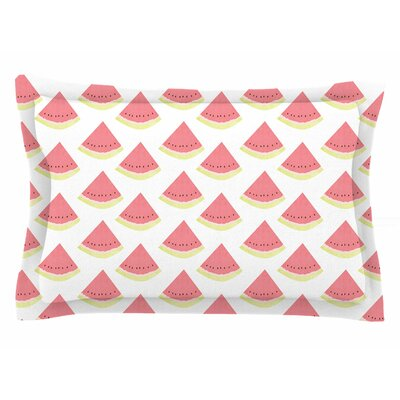 Afe Images Watermelon Illustration Sham Size: King