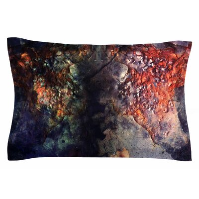 Pia Schneider Abstraction No12 Mixed Media Sham Size: Queen