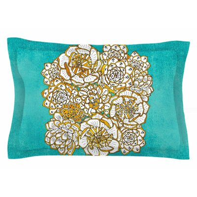 Pom Graphic Design Bohemian Succulents II Floral Sham Size: Queen