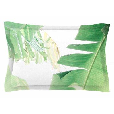 Ann Barnes Banana Leaf I Sham Size: 20 H x 30 W x 1 D