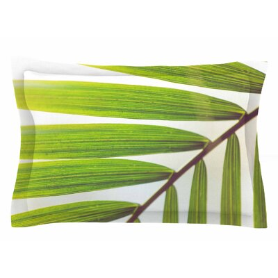 Ann Barnes Jungle Abstract Sham Size: Queen