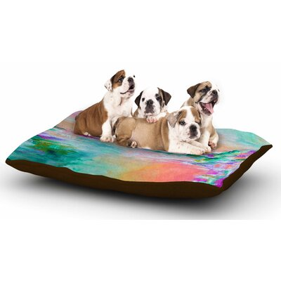Ebi Emporium Something About the Sea 4 Dog Pillow with Fleece Cozy Top