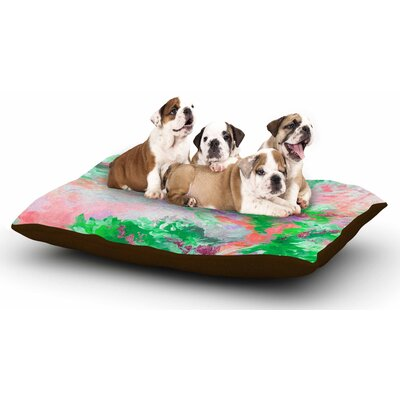 Ebi Emporium When We Were Mermids 4 Dog Pillow with Fleece Cozy Top