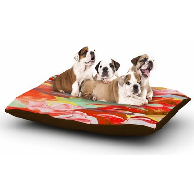Ebi Emporium Still Up in the Air 4 Dog Pillow with Fleece Cozy Top