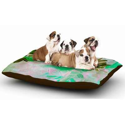 Ebi Emporium Deconstructing the Garden 5 Dog Pillow with Fleece Cozy Top