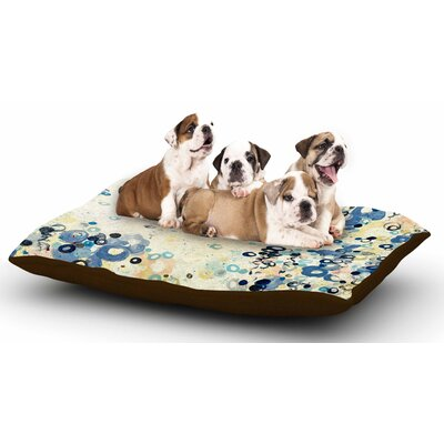 Ebi Emporium And Its Up She Goes Dog Pillow with Fleece Cozy Top