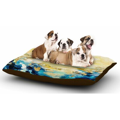 Ebi Emporium The Reverie Dog Pillow with Fleece Cozy Top