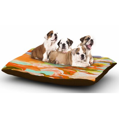 Ebi Emporium Still Up in the Air 5 Dog Pillow with Fleece Cozy Top