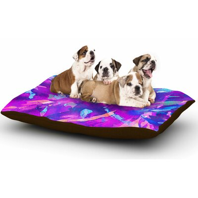 Ebi Emporium Motley Flow 2 Dog Pillow with Fleece Cozy Top