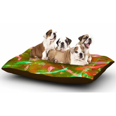 Ebi Emporium Motley Flow 3 Dog Pillow with Fleece Cozy Top