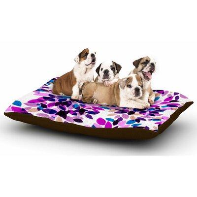 Ebi Emporium Dahlia Dots 3 Dog Pillow with Fleece Cozy Top
