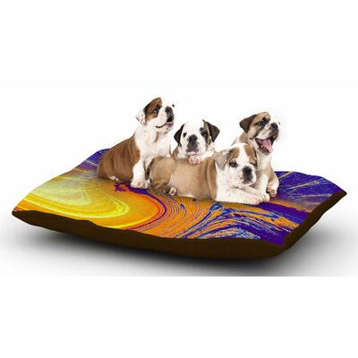 Infinite Spray Art Devreux Nautical Dog Pillow with Fleece Cozy Top