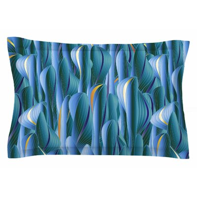 Angelo Cerantola Luscious Blue Digital Sham Size: Queen
