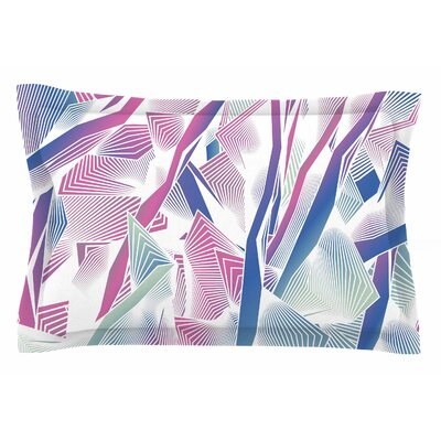 Angelo Cerantola Jungle Lines Digital Sham Size: Queen