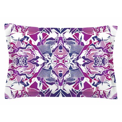 Angelo Cerantola Purple Tribe Digital Sham Size: Queen