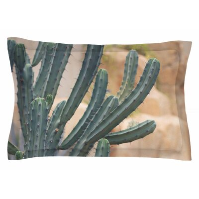 Ann Barnes Cactus Jungle II Photography Sham Size: King