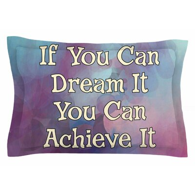 AlyZen Moonshadow 'If You Can Dream It' Digital Sham Size: King