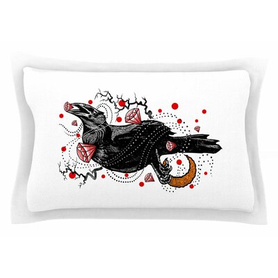 BarmalisiRTB Crow Diamond Digital Sham Size: Queen