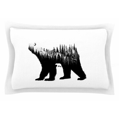 BarmalisiRTB The Bear Illustration Sham Size: Queen