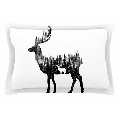 BarmalisiRTB The Deer Digital Sham Size: Queen