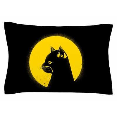BarmalisiRTB Hero Cat Digital Sham Size: King